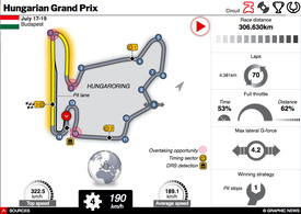 F1: Hungarian GP 2020 interactive infographic
