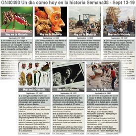 HISTORIA: Un día como hoy Septiembre 13-19, 2020 (semana 38) infographic