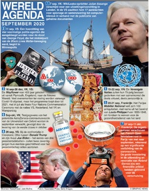 WERELDAGENDA: September 2020 infographic