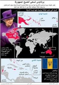 سياسة: بربادوس تسعى لتصبح جمهورية infographic