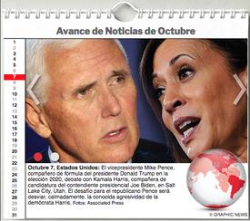 AGENDA MUNDIAL: Octubre 2020 Interactivo infographic