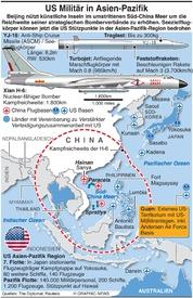 MILITÄR: U.S.Militär in Asien-Pazifik in Asia-Pacific infographic
