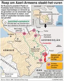 CONFLICT: Roep om staakt-het-vuren Nagorno-Karabavh infographic