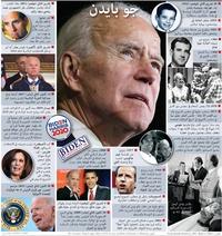 الانتخابات الأميركية: جو بايدن - بطاقة تعريف (1) infographic