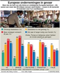 BUSINESS: Europese ondernemingen in gevaar infographic