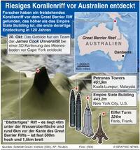 UMWELT: Riesiges Koreallenriff vor Australien entdeckt infographic