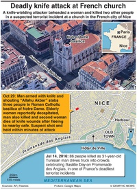 TERROR: Knife attack in Nice infographic