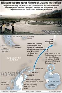 UMWELT: Rieseneisberg könnte im Naturschutzgebiet landen  infographic