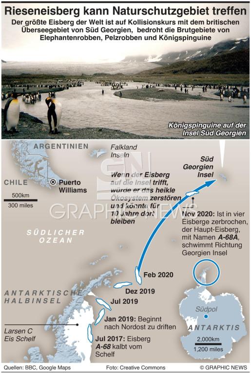 Rieseneisberg könnte im Naturschutzgebiet landen  infographic