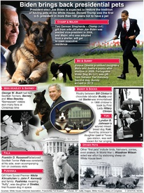 ENTERTAINMENT: U.S. presidential pets infographic