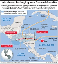 WEER: Hurricane Iota infographic