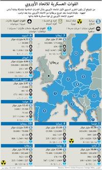 عسكري: القوات العسكرية للاتحاد الأوروبي (2) infographic