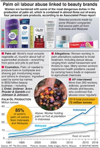 BUSINESS: Palm oil industry factbox infographic