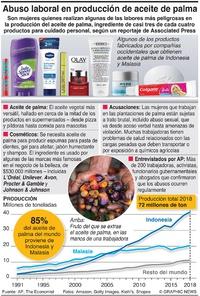NEGOCIOS: La industria del aceite de palma infographic
