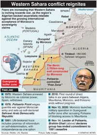 MILITARY: Western Sahara conflict reignites infographic