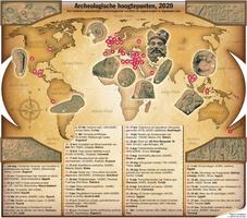 EIND VAN HET JAAR: Archeologische hoogtepunten 2020 infographic
