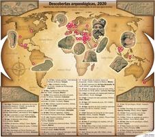 FIM DE ANO: Descobertas arqueológicas 2020 infographic