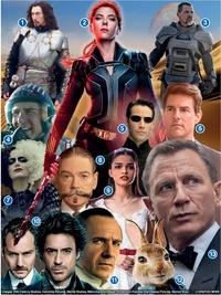 FIM DE ANO: Filmes a estrear em 2021 infographic