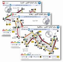F1: Grand Prix circuits 2021 (R9-R16) (2) infographic