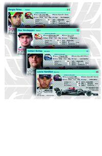F1: Perfis dos pilotos 2021 (parte 1) infographic