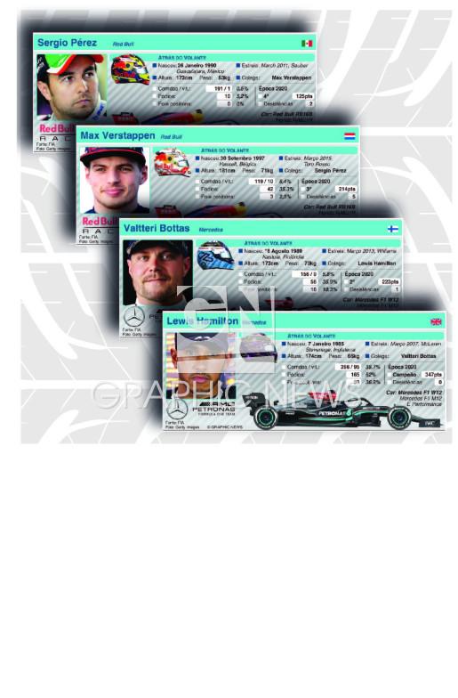 Perfis dos pilotos 2021 (parte 1) infographic