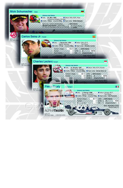 Fahrer Profile 2021 (part 2) infographic