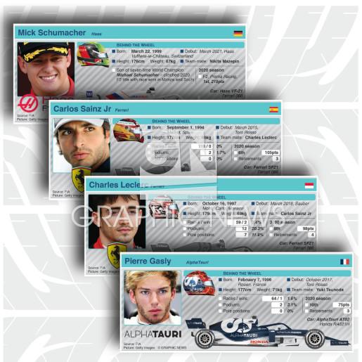 Driver profiles 2021 (3) (part 2) infographic