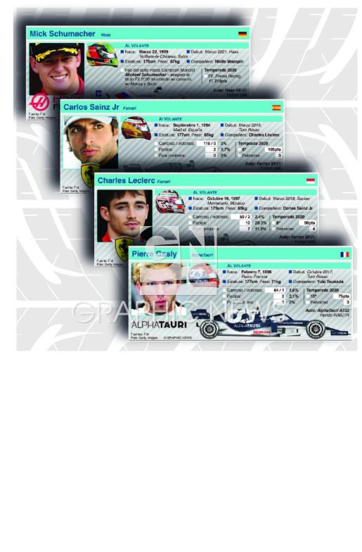 Perfiles de pilotos 2021 (parte 2) (3) infographic
