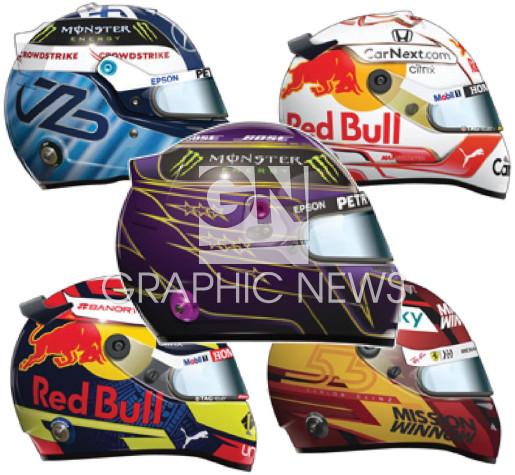 Drivers' helmets 2021 (7) infographic