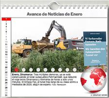 AGENDA MUNDIAL: Enero 2021 Interactivo infographic