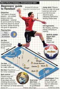 HANDBALL: Guide to Handball infographic