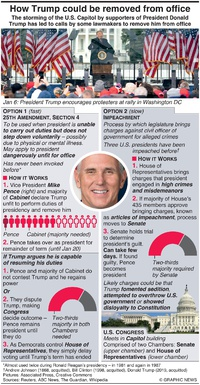 POLITICS: How to remove Trump from office (1) infographic
