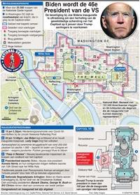 POLITIEK: Beveiliging inauguratie Biden (3)  infographic