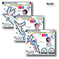 MOTOGP: Circuitos Grand Prix 2021 (R1-R7) (1) infographic