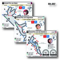 MOTOGP: Grand Prix circuits 2021 (R1-R7) (1) infographic