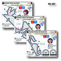 MOTOGP: Circuitos de Grande Prémio 2021 (R1-R7) (1) infographic