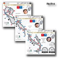 سباق سيارات: موتو جي بي - سباق الجائزة الكبرى 2021 (R8-R14) (1) infographic
