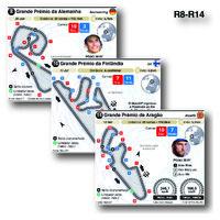 MOTOGP: Circuitos de Grande Prémio 2021 (R8-R14) (2) infographic