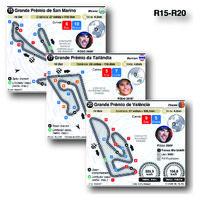 MOTOGP: Circuitos de Grande Prémio 2021 (R15-R20) (1) infographic