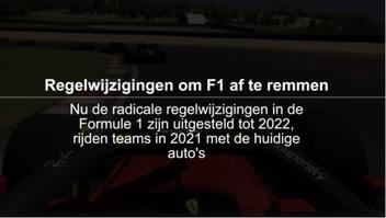 F1: Regelwijzigingen 2021 om F1 af te remmen infographic