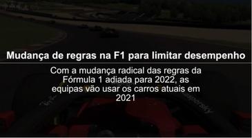 F1: Atualização das regras para limitar o desempenho na F1 em 2021, vídeo infographic