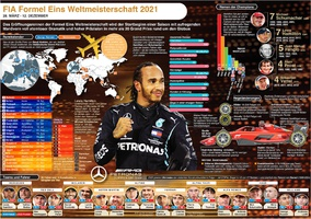 F1: Formel Eins WM - Wallchart 2021  2021 infographic