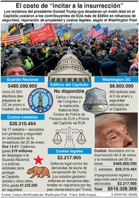 POLITÍCA: Costo de incitación a la insurrección infographic