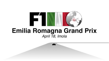 F1: Italy GP 2021 video infographic