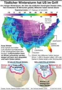 WETTER: Tödlicher Wintersturm hat US im Griff infographic