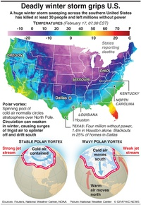 WEATHER: Deadly winter storm grips U.S. infographic