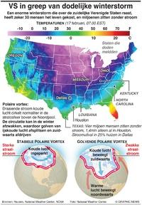 WEER: VS in greep van dodelijke winterstorm infographic