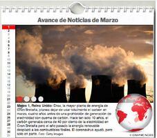 AGENDA MUNDIAL: Marzo 2021 Interactivo infographic