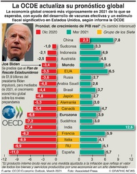 NEGOCIOS: La OCDE mejora el panorama económico infographic