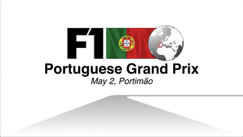 F1: Portugal GP 2021 video infographic